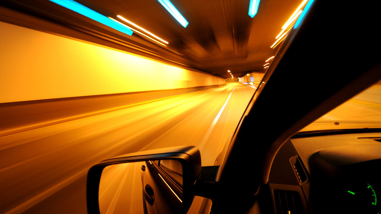 how to see better at night driving